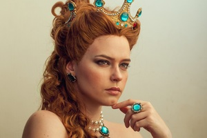 Anna Henrietta The Witcher 3 Wild Hunt Cosplay Wallpaper