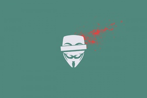 Anonymus Mask 2 Wallpaper