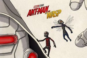Ant Man And The Wasp Fan Art