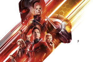 Ant Man And The Wasp Movie 10k Wallpaper
