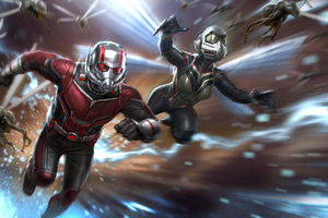 Ant Man And The Wasp Movie Concept Art