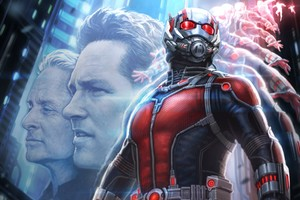 Ant Man Artwork Wide