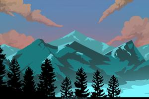 Appalachia Mountain 8k Illustration Wallpaper