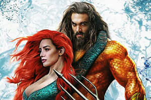 Aquaman And Mera Art Wallpaper
