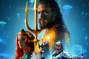 Aquaman International Poster Wallpaper