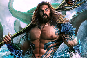 Aquaman Movie Art