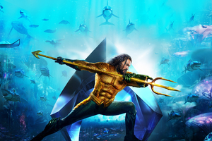 Aquaman Movie New Poster 2018 Wallpaper