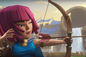 Archer Clash Of Clans Hd