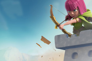 Archer Clash Of Clans Wallpaper