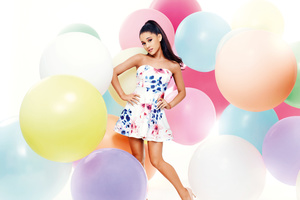 Ariana Grande Music Singer Wallpaper