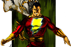 Art Shazam Wallpaper