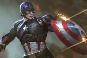 Arts Captain America Wallpaper