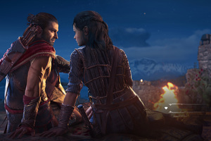 Assassins Creed Odyssey Love Story With Kyra 4k Wallpaper