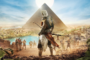 Assassins Creed Origins Bayek 4k Wallpaper