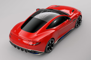 Aston Martin Vanquish S Red Arrows Edition Rear