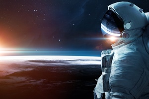 Astronaut Scifi 5k Wallpaper