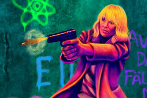 Atomic Blonde Fan Art 5k Wallpaper