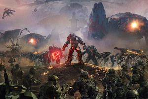 Atriox Battlefield Halo Wars 2