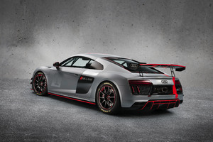 Audi R8 Lms Gt4 Rear Wallpaper