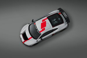 Audi R8 Lms Gt4 Top View
