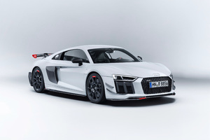 Audi R8 Performance Parts Wallpaper
