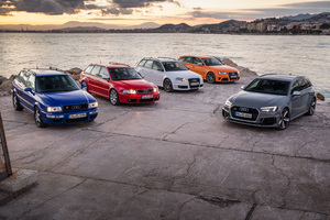 Audi Rs2 Rs4 All Editions Wallpaper