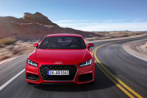 Audi TT Coupe 45 TFSI Quattro 4k Wallpaper