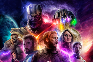 Avengers 4 End Game 2019 Wallpaper