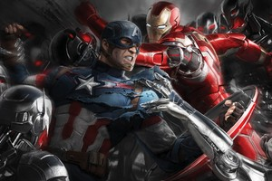 Avengers Age Of Ultron Artwork 3 Wallpaper