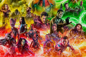 Avengers End Game Fan Artworks