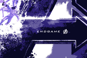Avengers End Game Logo Wallpaper