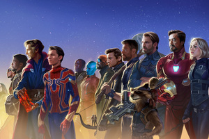 Avengers Infinity War 5k Artwork Wallpaper