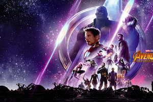Avengers Infinity War HD Poster Wallpaper