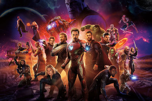 Avengers Infinity War International Poster 10k
