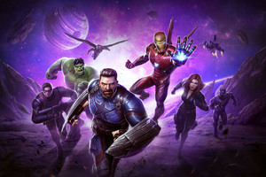 Avengers Infinity War Marvel Contest Of Champions 2018 Wallpaper
