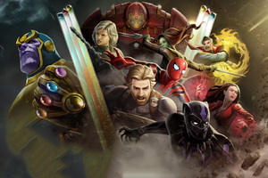 Avengers Infinity War Marvel Contest Of Champions Wallpaper