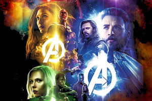 Avengers Infinity War Movie 2018 Wallpaper