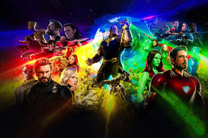 Avengers Infinity War New Poster Wallpaper