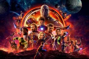 Avengers Infinity War Official Poster 2018 Wallpaper