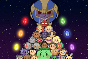 Avengers Infinity War Tsum Artwork