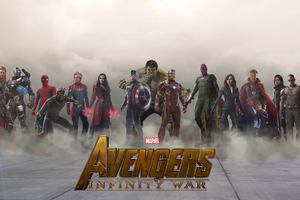 Avengers Infinty War 2018 Movie Fan Art