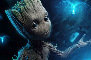 Baby Groot 4k Wallpaper