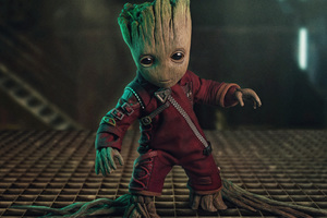 Baby Groot 5k Wallpaper