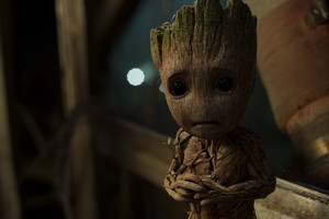 1280x720 Baby Groot In Guardians of the Galaxy Vol 2