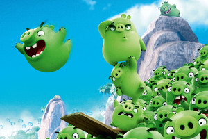 Bad Piggies Angry Birds Wallpaper