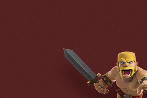 Barbarian Clash Of Clans Supercell Wallpaper