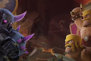 Barbarian Vs Pekka Clash Of Clans