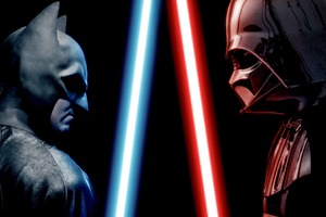 Batman And Darth Vader Lightsaber