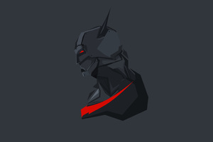 Batman Beyond Minimalism Wallpaper