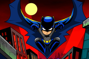 Batman Cartoon Art 4k